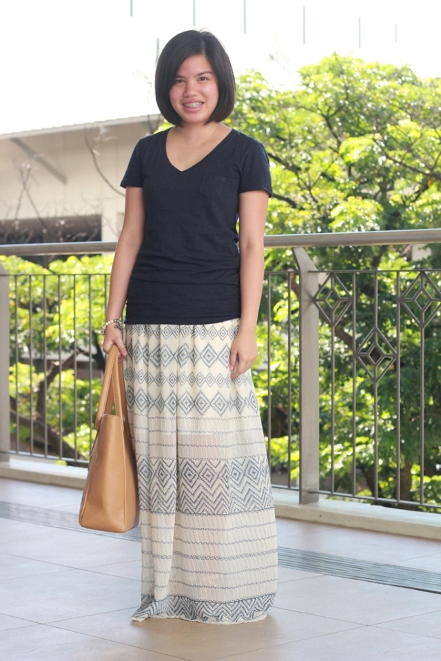 Ornate Maxi Skirt