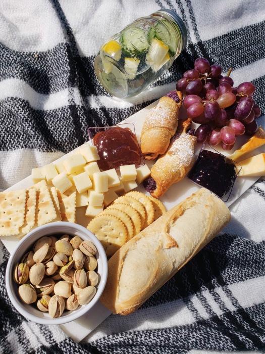 Picnic Date - Ube Croissant