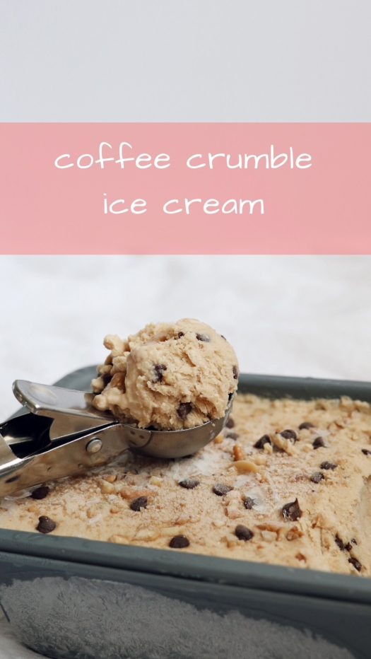Coffee Crumble Ice Cream recipe